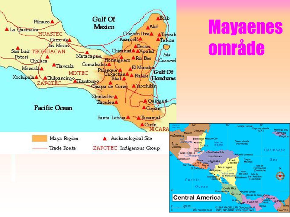 Mayaene. •Mayaene i Sentral-Amerika, som hadde sin storhetstid i perioden 250 f.Kr. – 900 e.Kr. et høyt utviklet tallsystem. •De brukte 20 som grunnta
