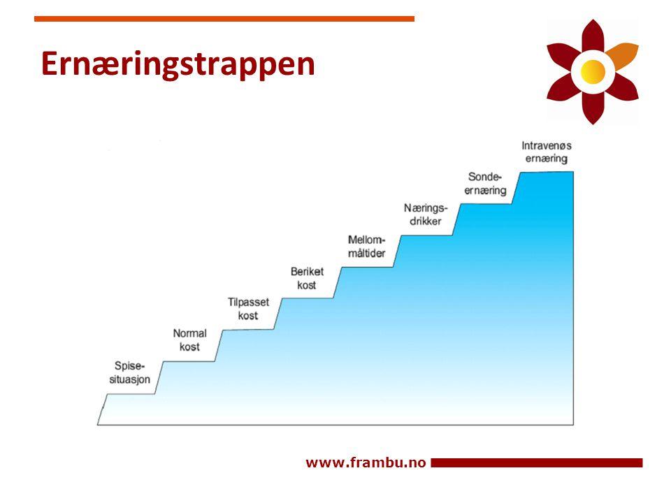 www.frambu.no Ernæringstrappen