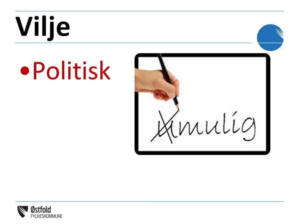 Vilje •Politisk