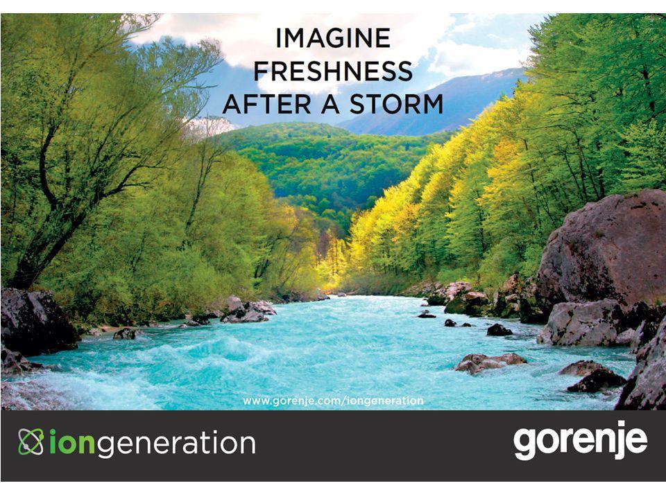 KJØLESKAP, FRYSERE OG KOMBISKAP NY GENERASJON 1 / 44 GORENJE COOLING | www.gorenje.com