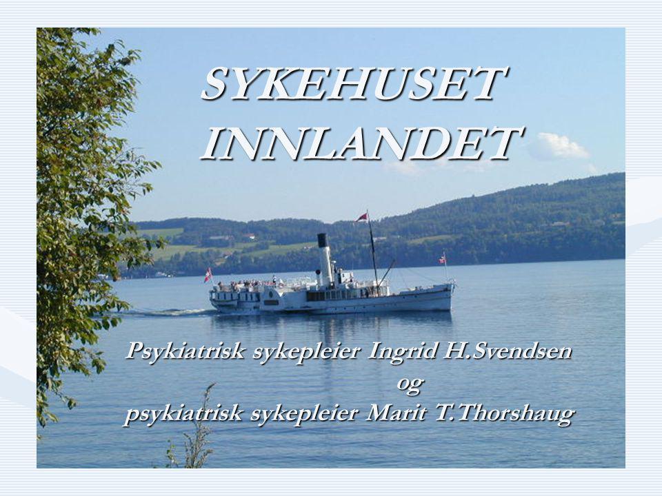 Bilde av Skibladner på Mjøsa SYKEHUSET INNLANDET Psykiatrisk sykepleier Ingrid H.Svendsen og og psykiatrisk sykepleier Marit T.Thorshaug