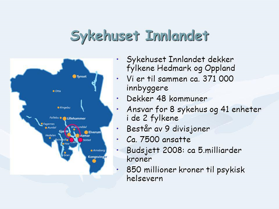 Divisjon Psykisk helsevern Avdeling for psykosebehandling og rehabilitering SEKSJON FOR UTREDNING/ DIAGNOSTIKK/BEHANDLING SEKSJON FOR UTREDNING/ DIAGNOSTIKK/BEHANDLING