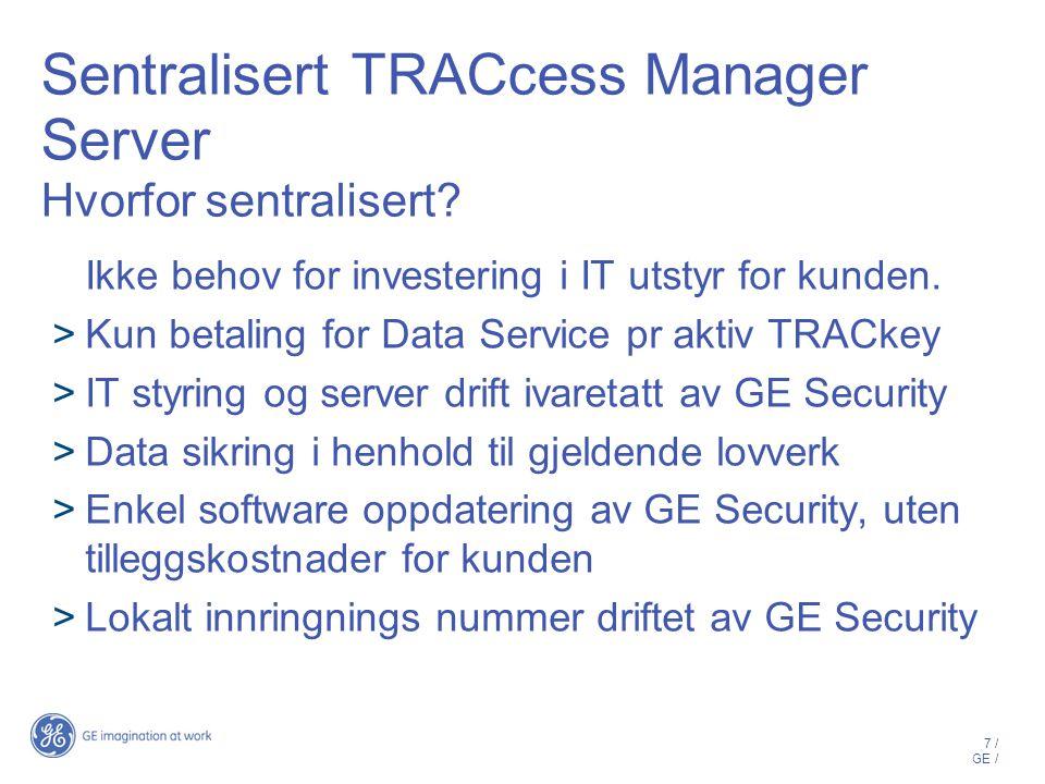 18 / GE / TRACcess i EMEA (Europa, Midt Østen og Afrika) Referanser