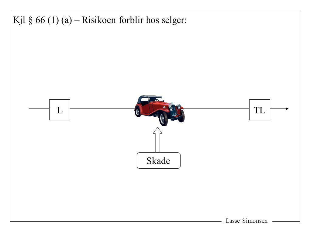 Lasse Simonsen Kjl § 66 (1) (a) – Risikoen forblir hos selger: LTL Skade