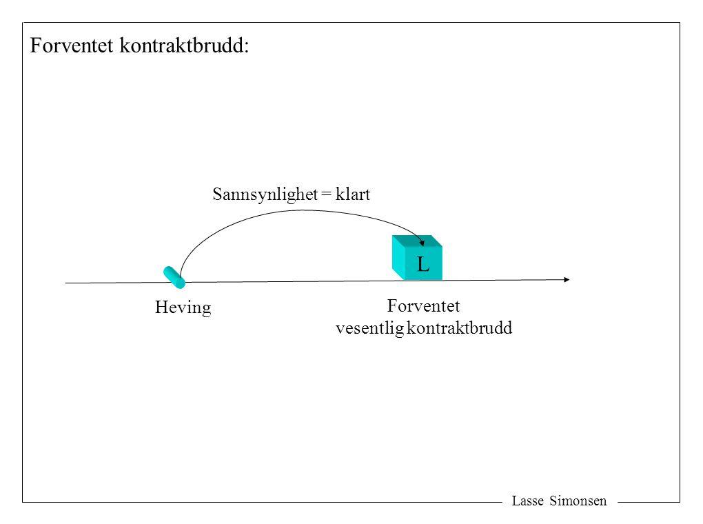 Lasse Simonsen DK Y Sideplikter: Medvirkning Betaling Sideplikter - Forsikring - Garantier - Osv