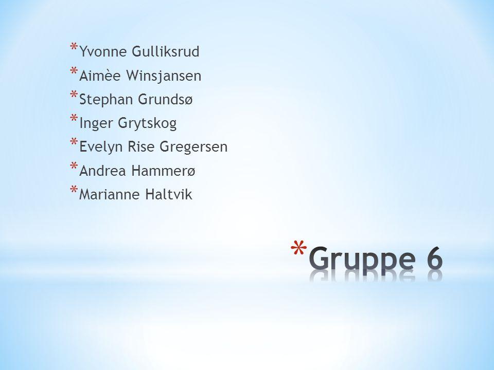 * Yvonne Gulliksrud * Aimèe Winsjansen * Stephan Grundsø * Inger Grytskog * Evelyn Rise Gregersen * Andrea Hammerø * Marianne Haltvik