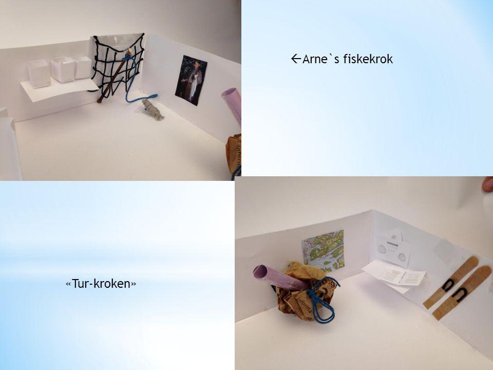  Arne`s fiskekrok «Tur-kroken»