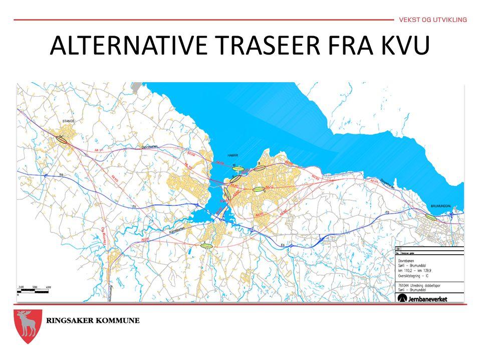 ALTERNATIVE TRASEER FRA KVU
