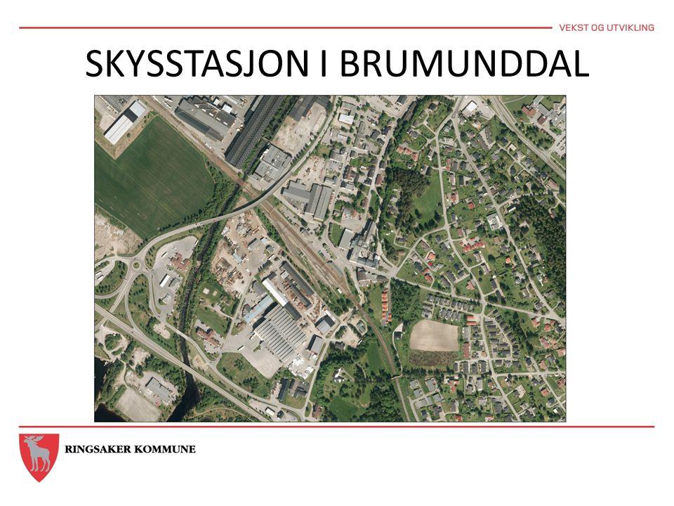 SKYSSTASJON I BRUMUNDDAL
