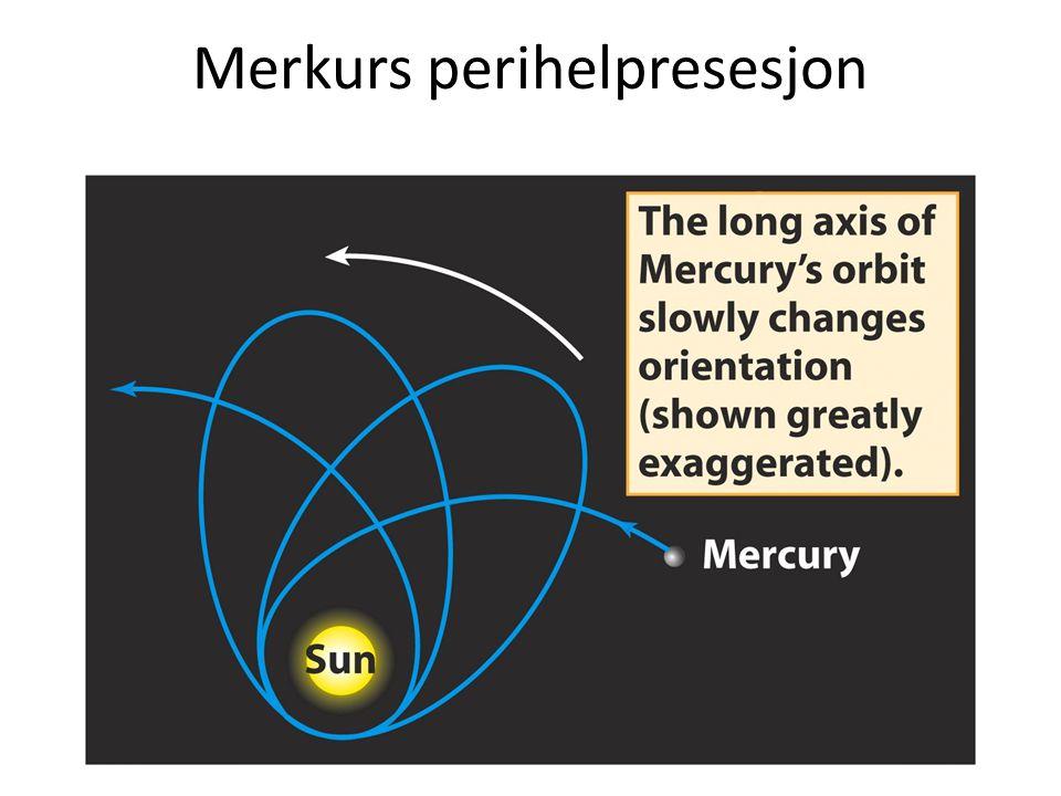 Merkurs perihelpresesjon