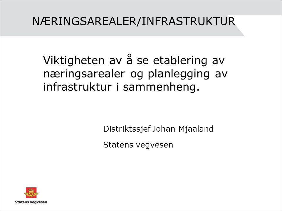 Problemstrekninger i dag.•Vågsbygdveien •E 39 vest for Kristiansand mot Songdalen og Søgne.