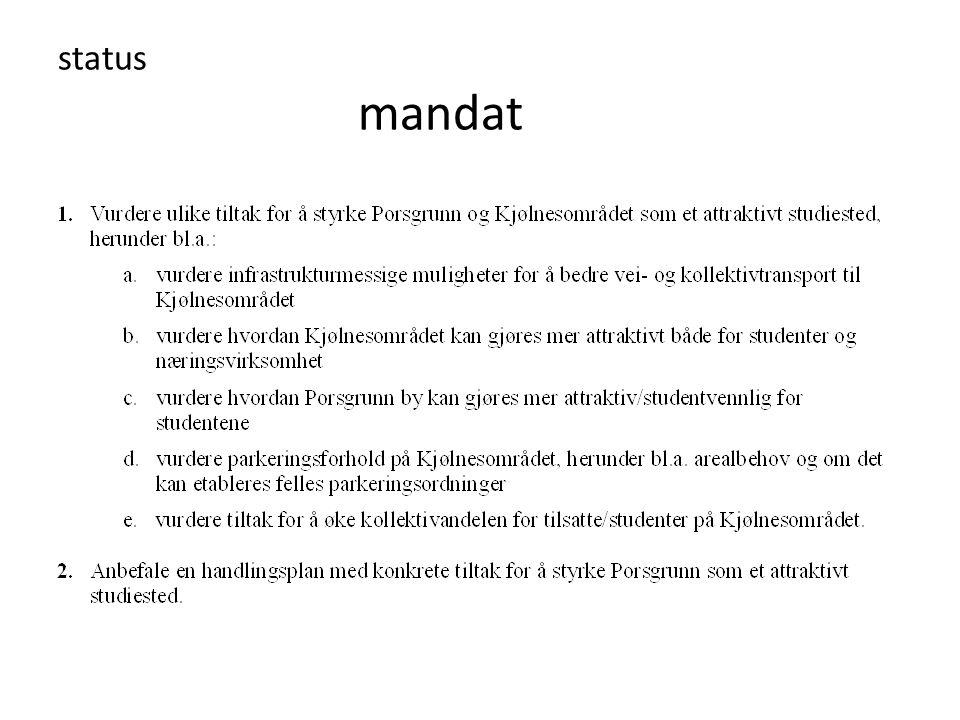 status mandat
