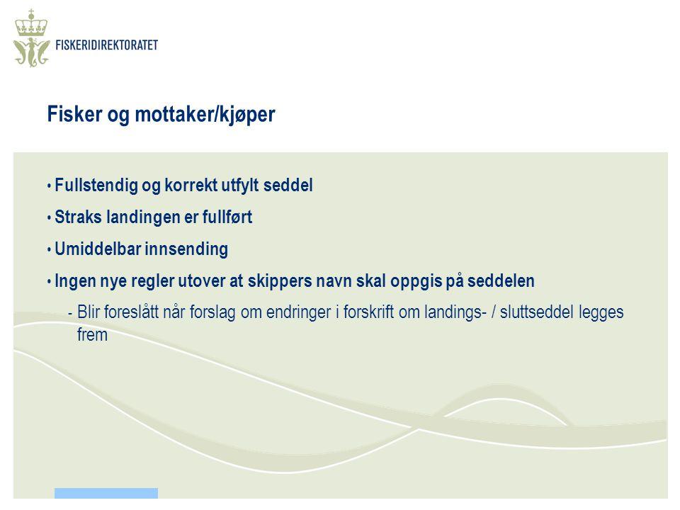 Kontroll i EU og i Norge • Kontrollen i EU skal utføres av utpekte myndigheter i medlemslandene.