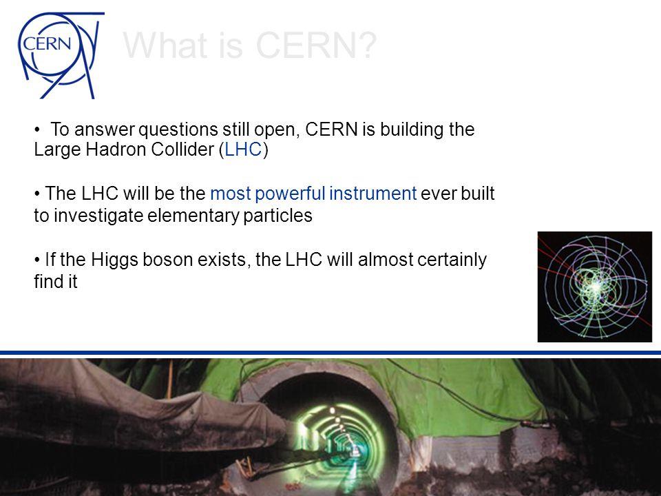 Virke i et utfordrende milj ø • Faglig – På mange felt har CERN unike krav • Mellommenneskelig – CERN yter tjenester til 80 forskjellige nasjonaliteter • Sosialt – Utenfor CERNs gjerder snakker ikke alle engelsk...