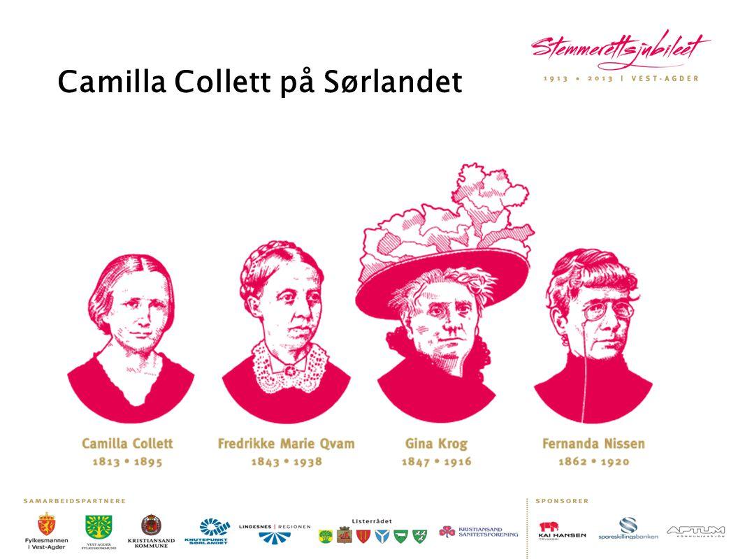 Camilla Collett på Sørlandet