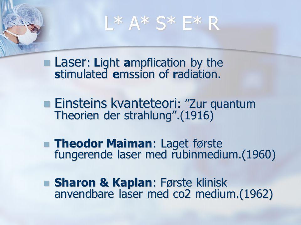 Eksempel på YAG krystall  Krystallet til en KTP laser er ikke større enn ca.