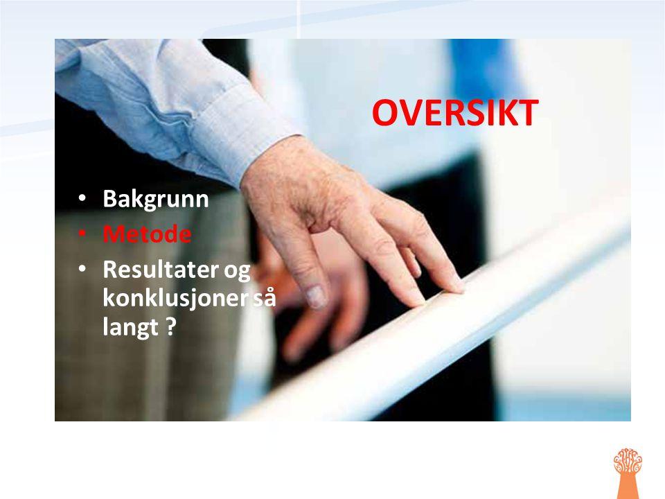 RESULTATER SÅ LANGT (1) Inkludering N Intervensjons- gruppe: I.G.