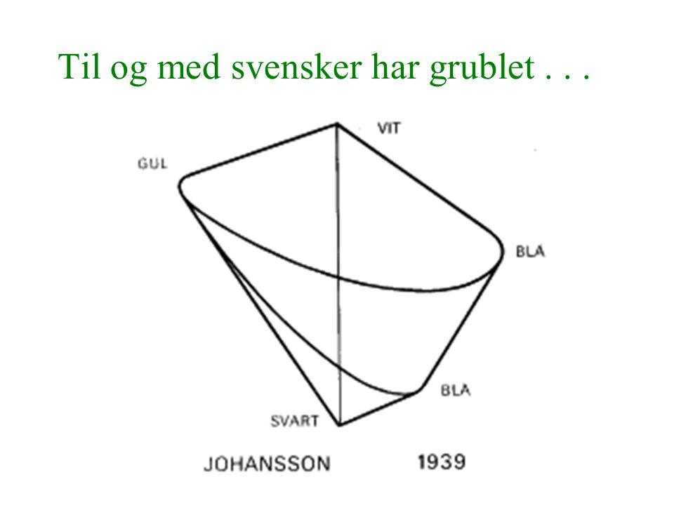 Til og med svensker har grublet...