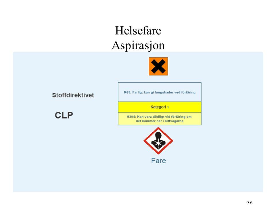 Helsefare Aspirasjon 36