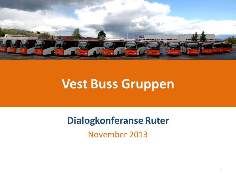 Vest Buss Gruppen 1.Ruter vil utnytte den samlede kompetansen bedre.