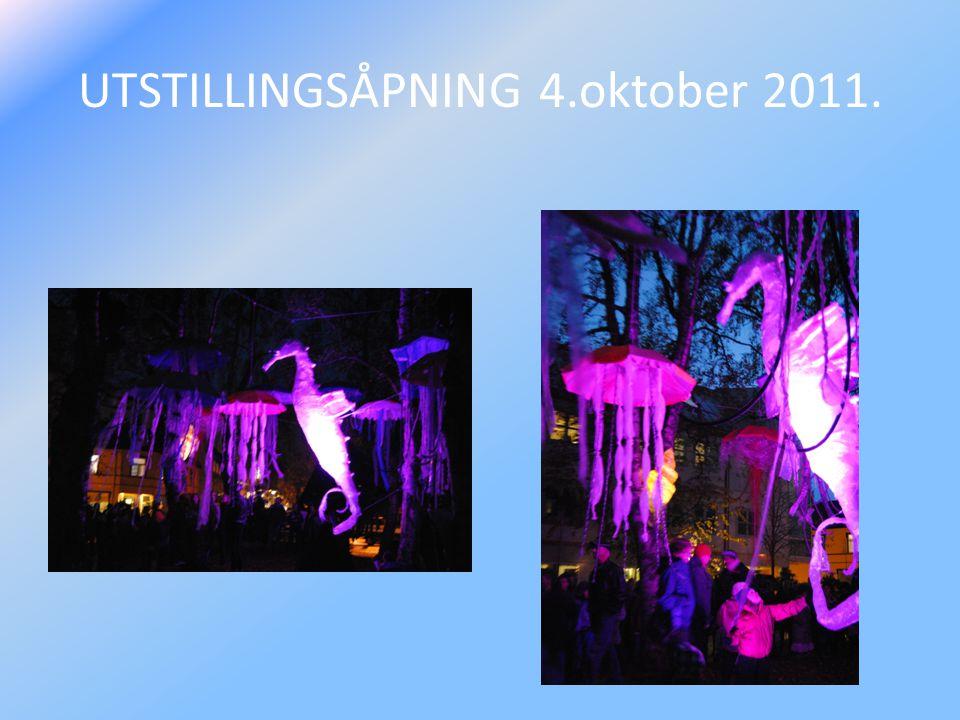 UTSTILLINGSÅPNING 4.oktober 2011.