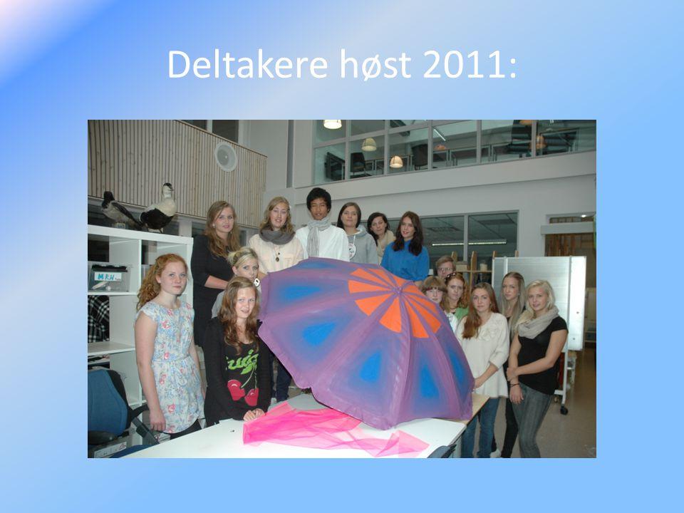 Deltakere høst 2011: