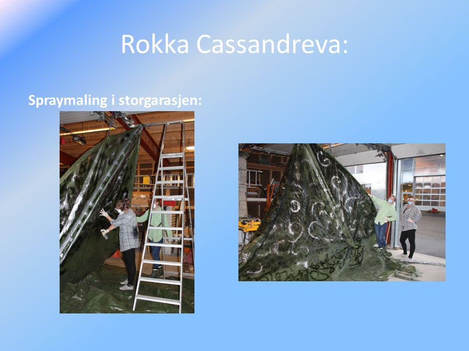 Rokka Cassandreva: Spraymaling i storgarasjen: