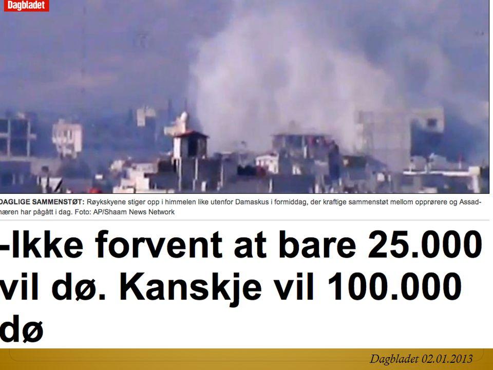 Dagbladet 02.01.2013