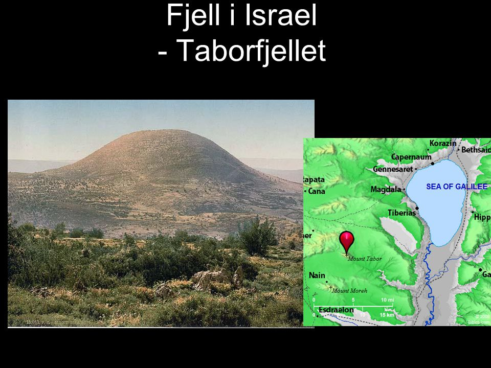 Fjell i Israel -Massada