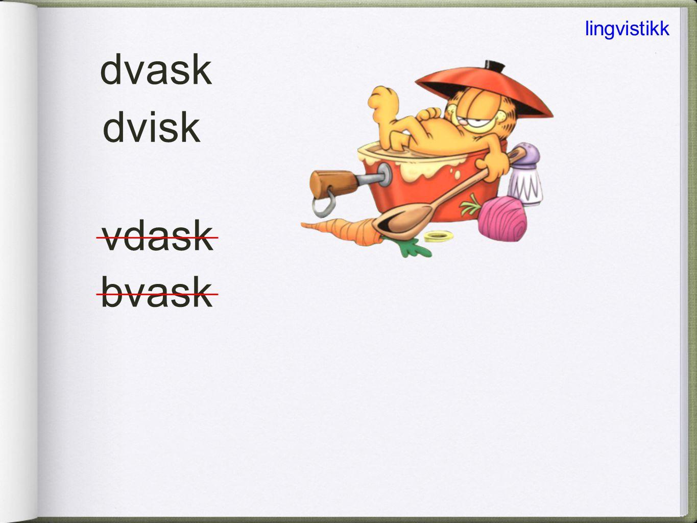 lingvistikk