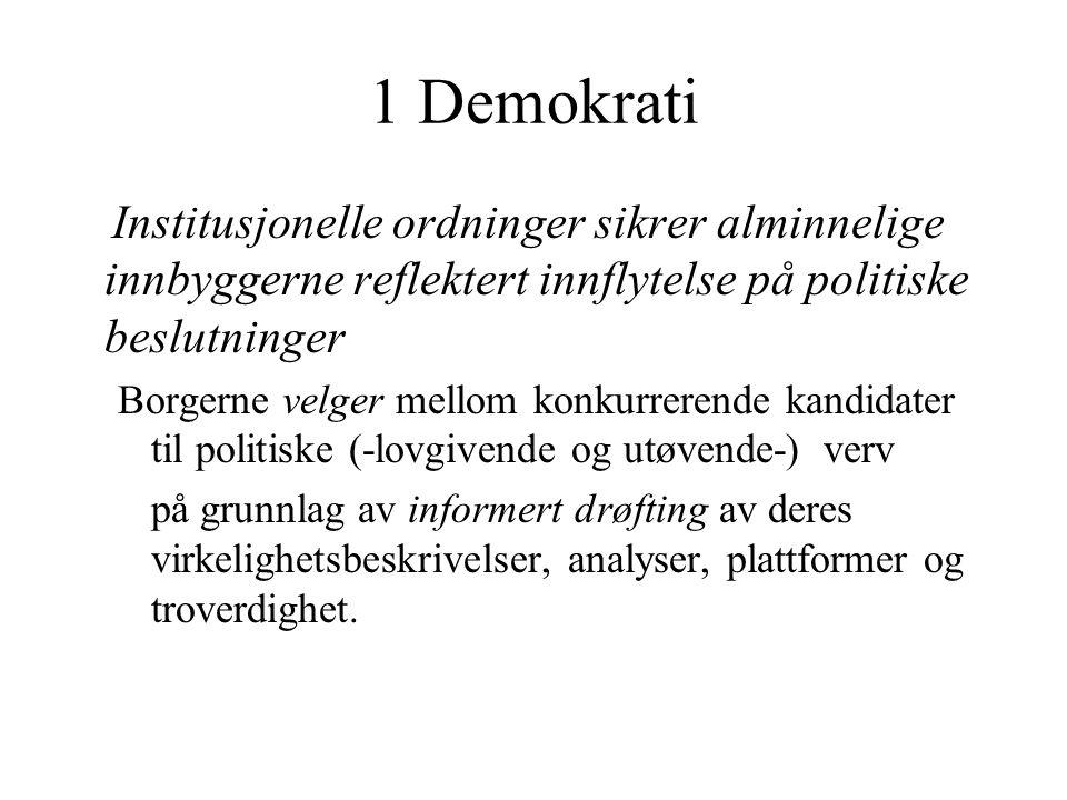 Konventprosessen som demokratiserende faktor.