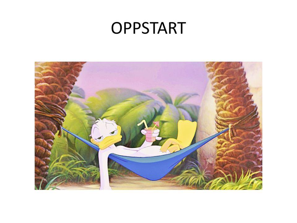 OPPSTART