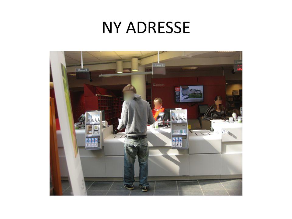 NY ADRESSE