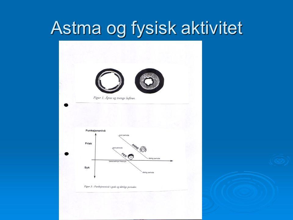 Astma og fysisk aktivitet