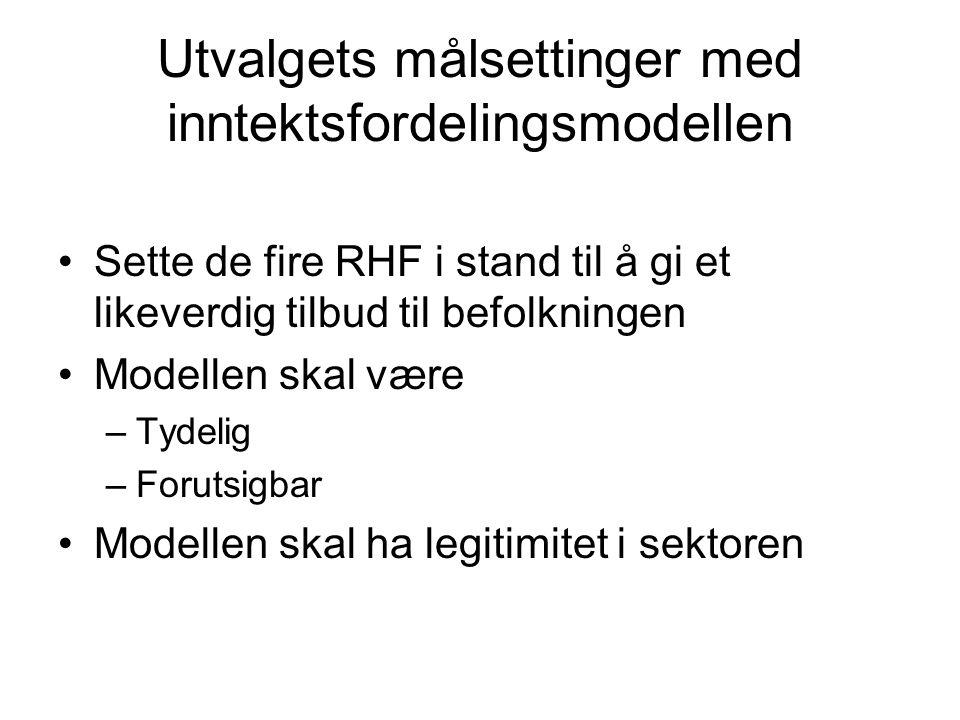 Kostnadsindeks Helseregion Kostnadsindeks Helse Sør-Øst98,5 Helse Vest98,0 Helse Midt-Norge102,0 Helse Nord109,5 Norge100,0