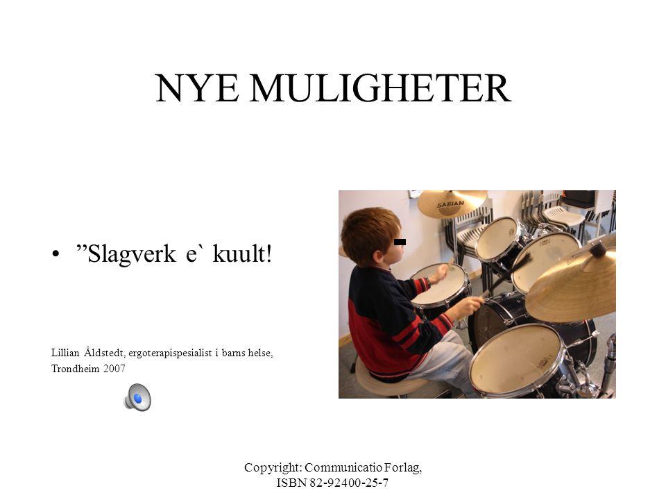 Copyright: Communicatio Forlag, ISBN 82-92400-25-7 HVIS MÅL IKKE OPPNÅDD •Revurdering av mål •Ny analyse av oppgave, aktivitet og omgivelser •Revurder