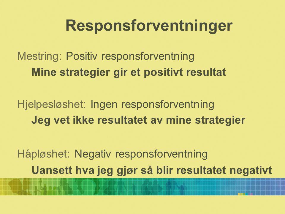 Positiv responsforventning