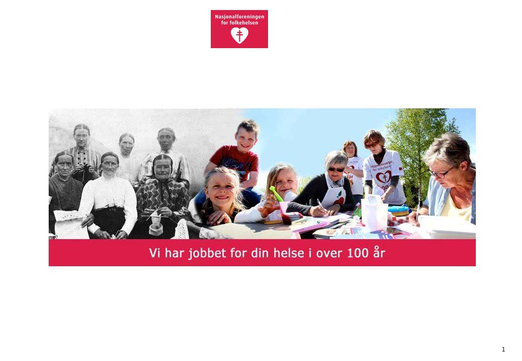 12 Mer informasjon •www.nasjonalforeningen.no •Facebook: Nasjonalforeningen for folkehelsen, Demensliv, Hjerteliv •Aktuelt •Lisbet Rugtvedts blogg om folk og helse