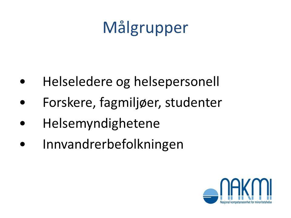 Kunnskapsoppsummering foreløpige funn  Forekomst av demens blant innvandrere i Norge er ikke kjent.