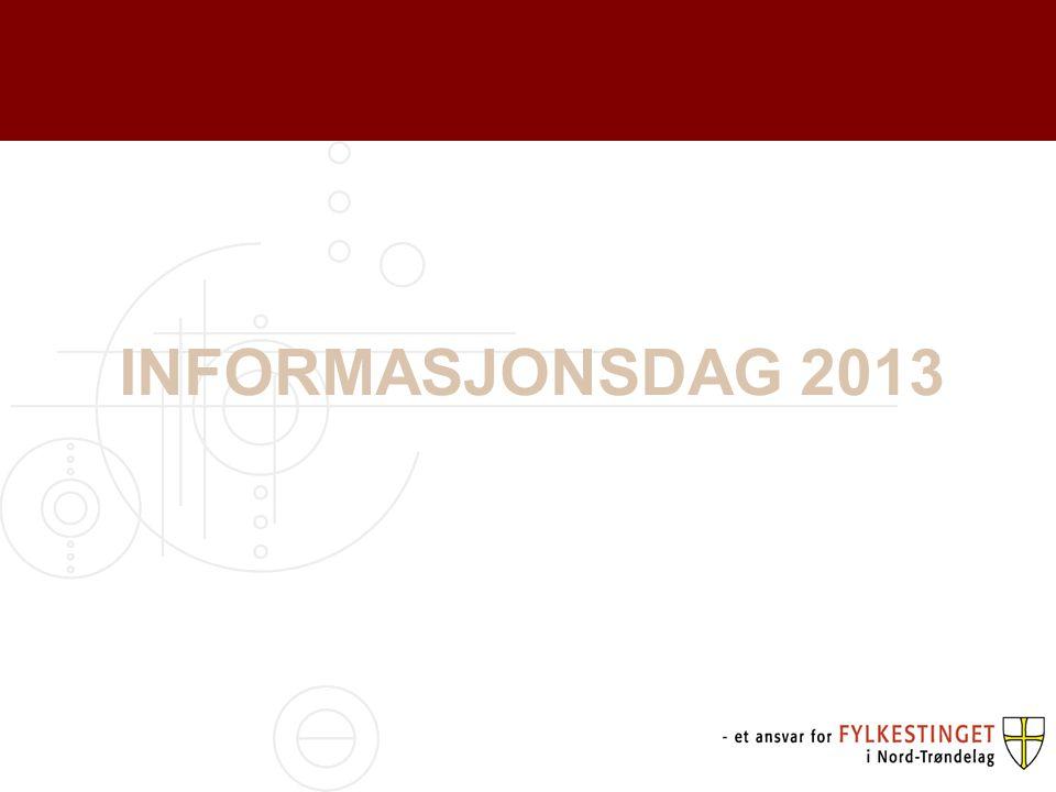 INFORMASJONSDAG 2013