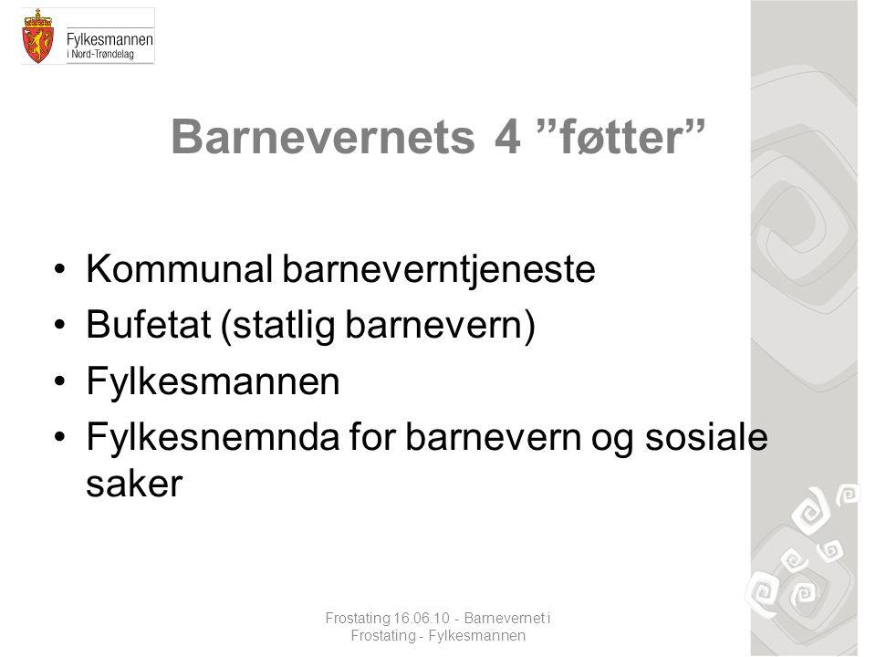 Fylkesnemnda for barnevern og sosiale saker •Etablert i 1993; i forbindelse med ny barnevernlov.