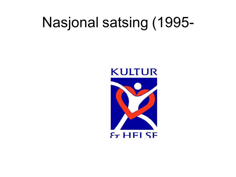 Nasjonal satsing (1995-