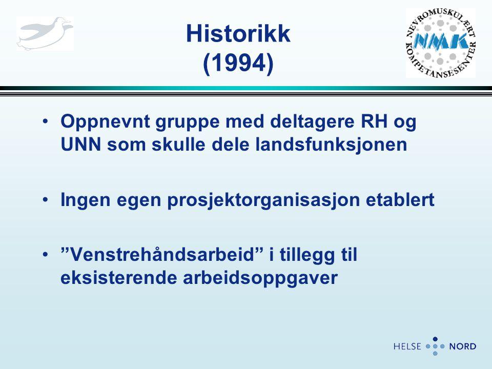 Forberedelser •Forespørsel sendt ut til alle fagmiljøene i Norge (høsten 2001) med forespørsel om innspill til prosjektet •NMK foreslo internasjonal diagnoseklassifisering etter ICD10