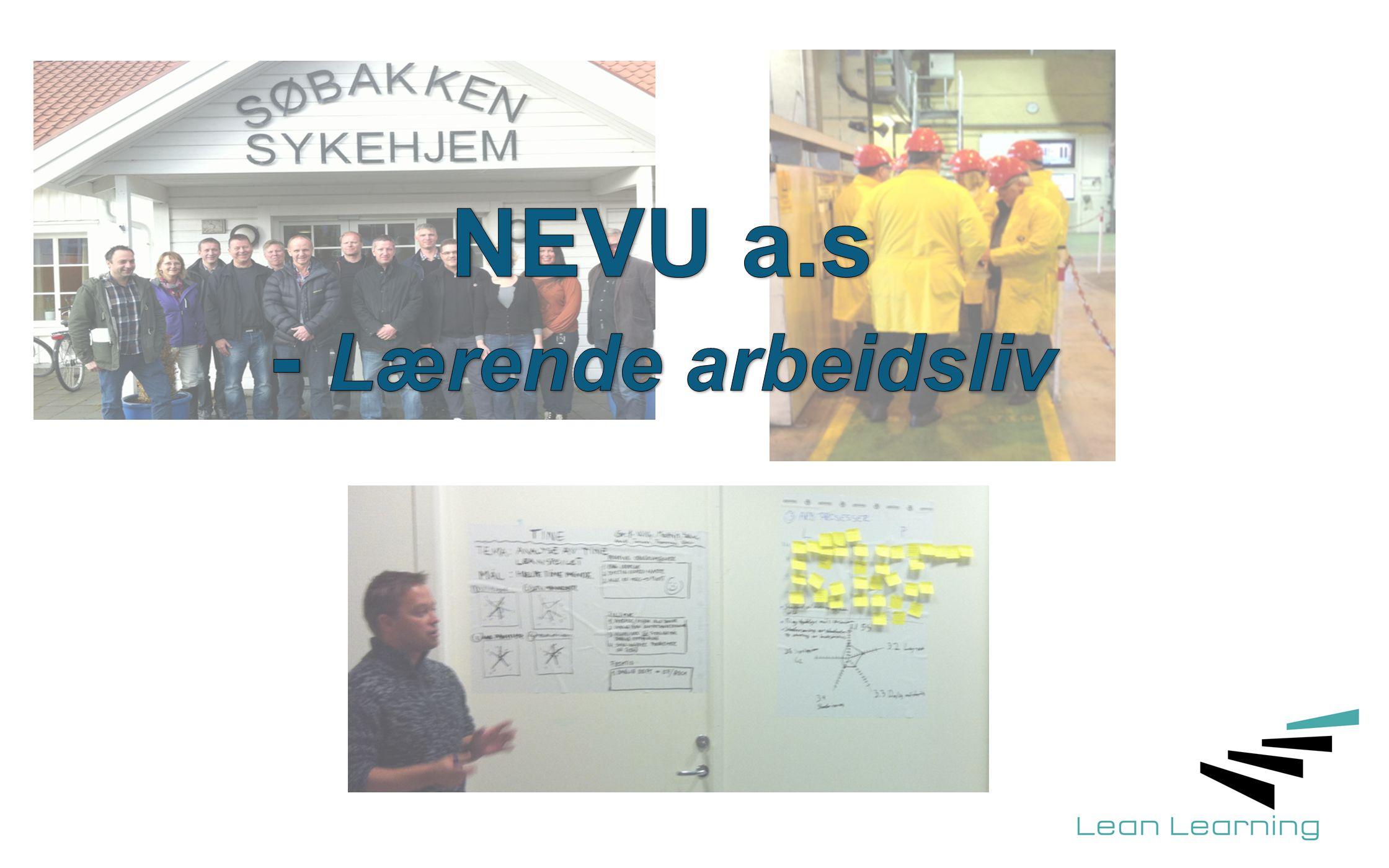 Arbeidsprosesser NEVU Krevende kunder Akademia 1.Kartlegging av læringsbehov /læringsverdi 2.