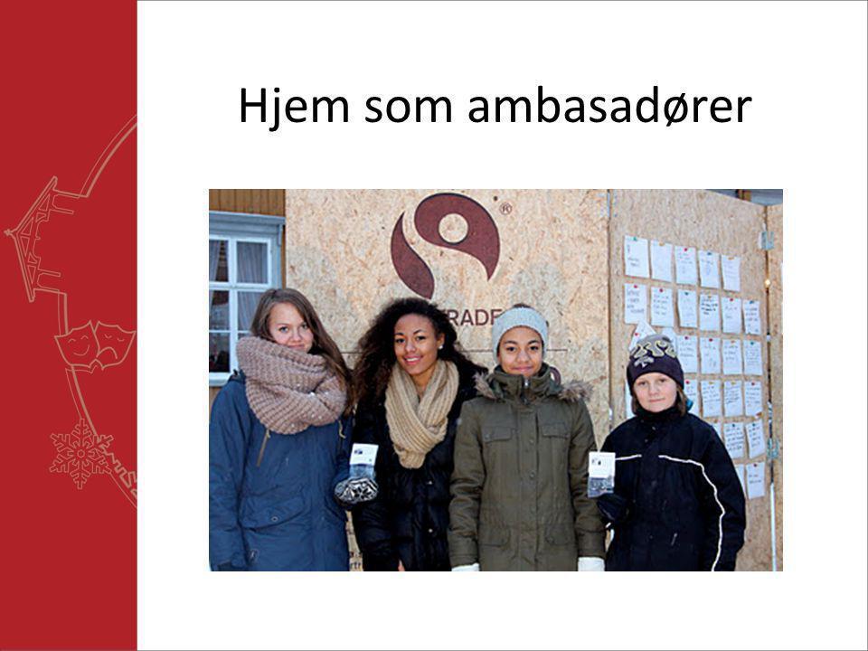 Hjem som ambasadører