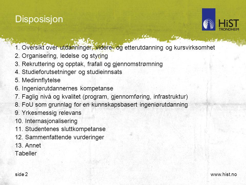 www.hist.noside 2 Disposisjon 1.