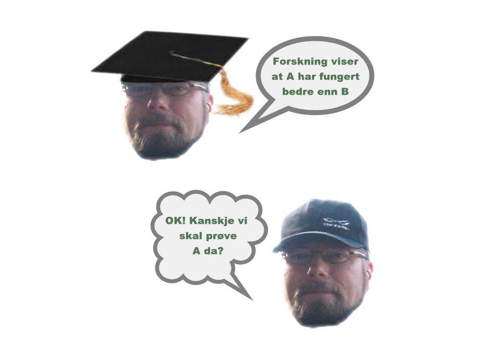 Ho 1 - Funn Ho 1 : En vil ikke finne forskjell i gjennomsnittsscore på produktene rangert ved bruk av tradisjonelle evalueringsmetoder, mellom elever som tar i bruk elektroniske semantiske nettverk, og elever som tar i bruk papirekvivalenter.