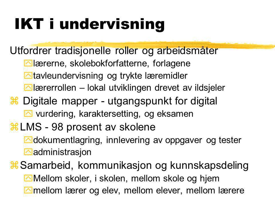 Ny rapport om IKT i skolen Bare bok gjør ingen klok Haugnæs, Albriktsen& Nafstad; 2008 Fra Abelia ved direktør Paul Chaffey Konklusjon Norge ligger la