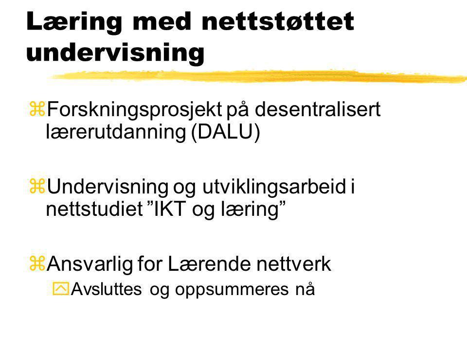 Lærerutdanning zNy lærerutdanning ySvenske og finske erfaringer yMasternivå, Specifik kompetens yÖvergripande perspektiv - IT som utbildingsresurs ySv