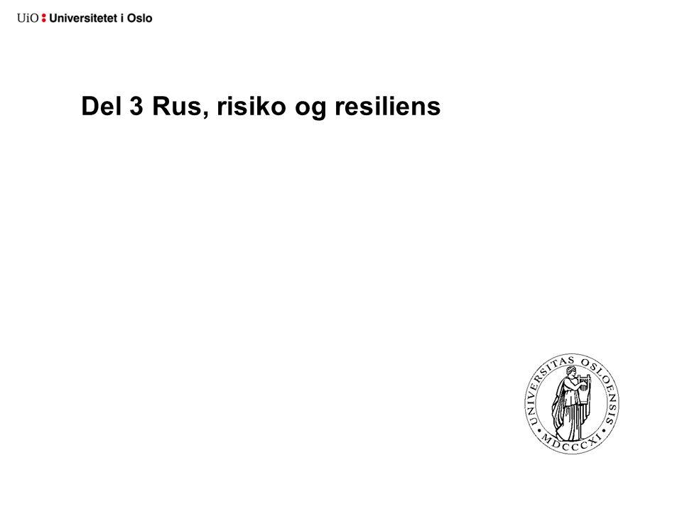 Del 3 Rus, risiko og resiliens